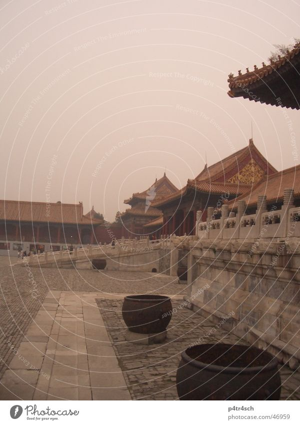 Forbidden City Temple Red Pot Forbidden city China