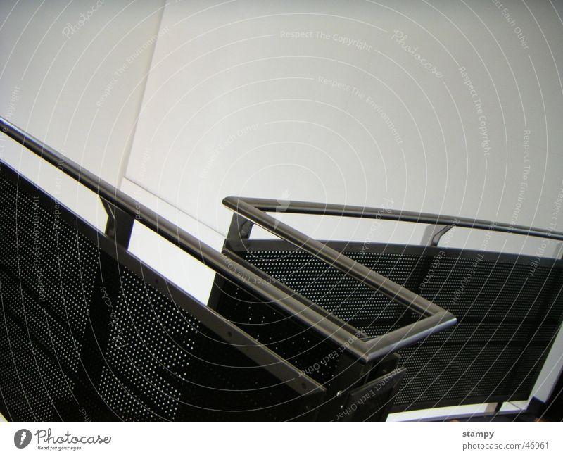 Line Metal Design Modern Curve Handrail