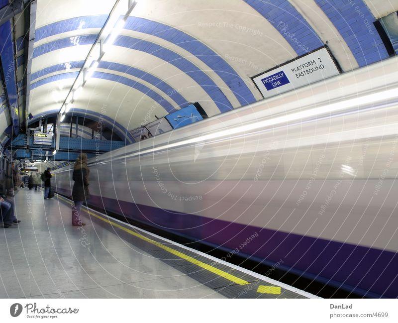 Transport Railroad Station Underground London London Underground Arrival