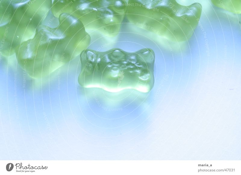 Blue Green Lamp Multiple Many Candy Unhealthy Gummy bears Foreground Important Irradiated Wine gum