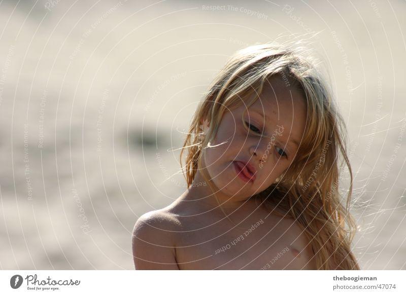 Girl Beach Hair and hairstyles Sand Cool (slang) Curl Tongue Brash Maya
