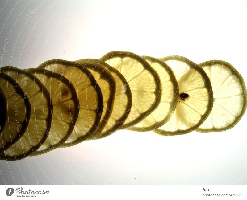 Nature Yellow Healthy Fruit Vitamin Lemon Fruit flesh Slice of lemon