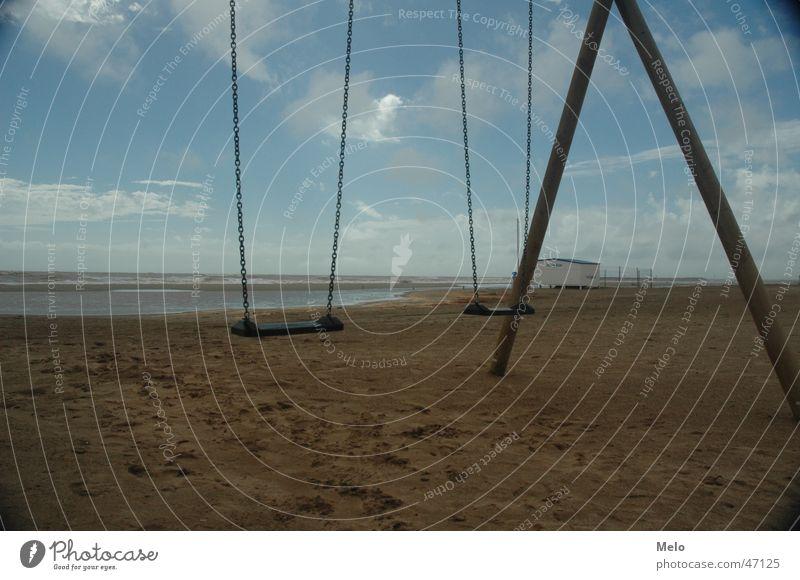 beach swing Swing Beach Ocean Southern France Sand
