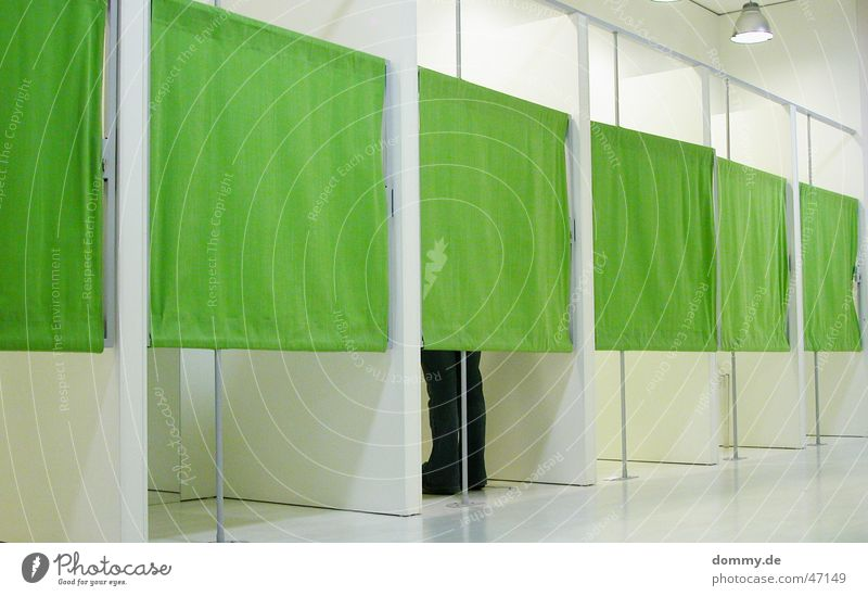 Green White Interior design Design Modern Cloth Store premises Changing room Shopping center Boutique Discretion