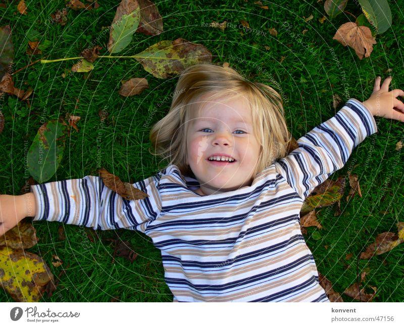 Child Girl Green Joy Leaf Meadow Grass Laughter Lawn Stripe Striped