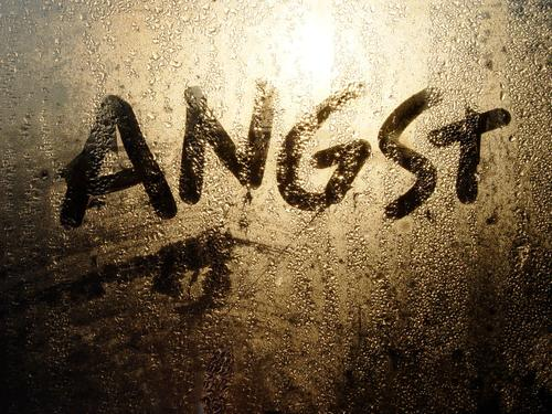anxiety Typography Fear Distress Concern Timidity Frightening Grief Fear of death Sunlight Drops of water Cold Wet Damp Pane Window Dark Light Panic Dangerous