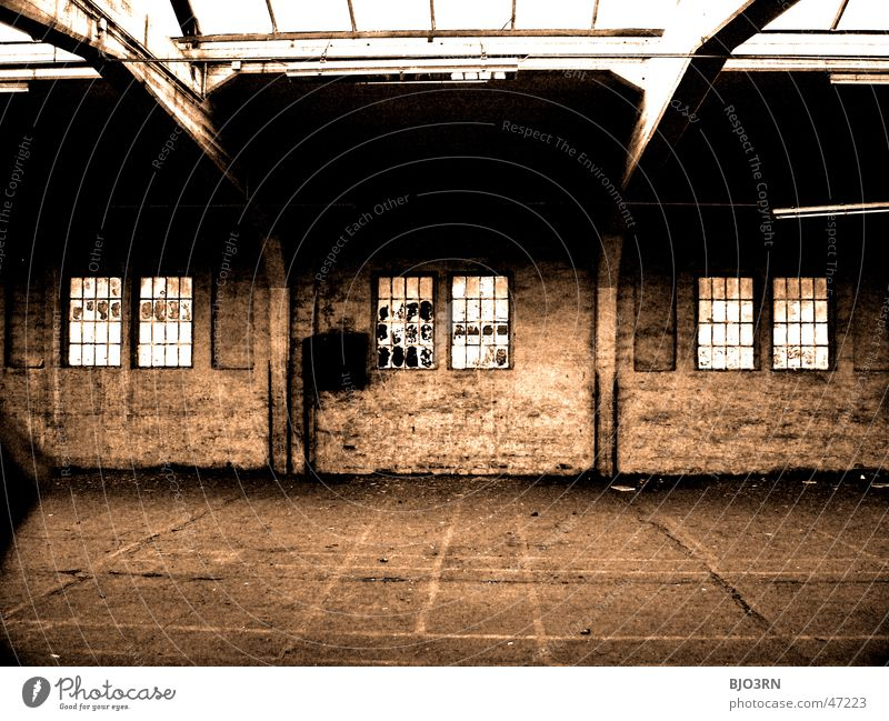 Loneliness Dark Window Wall (barrier) Building Factory Digits and numbers Creepy Train station Broken Window pane Shard