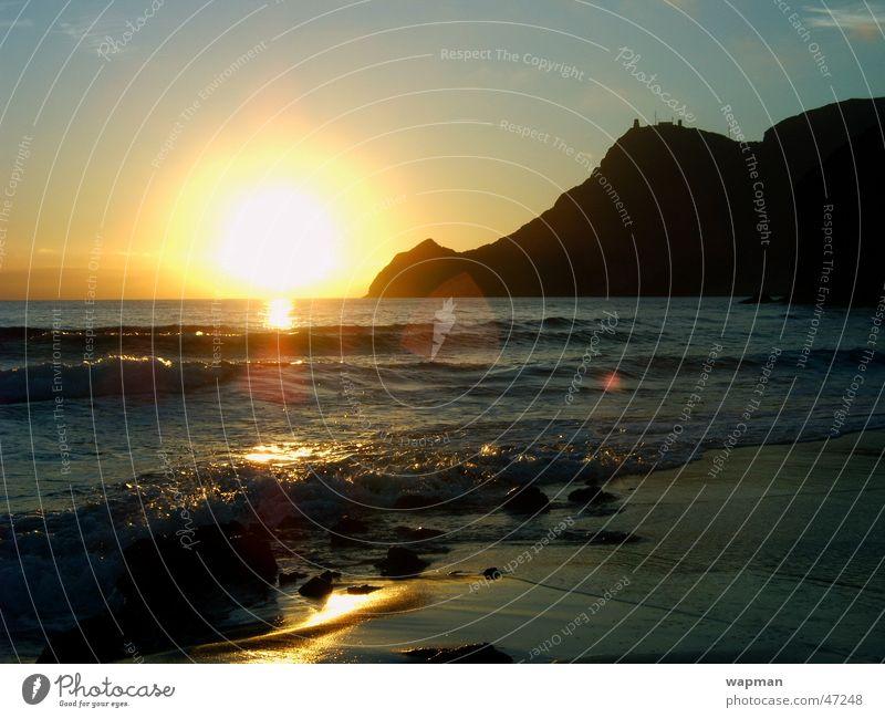 Ocean Beach Waves Spain Andalucia Cabo de Gata
