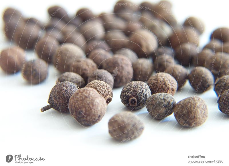 Nature White Nutrition Brown Cooking & Baking Sphere Herbs and spices Grain Dried Sense of taste Pepper Clove Pimento