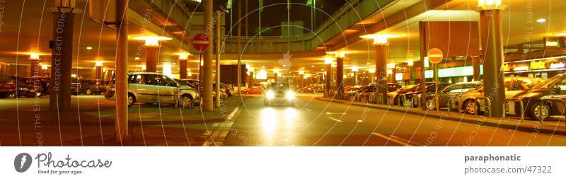 Street Style Lanes & trails Car Lamp Lighting Multiple Roof Stop Long Tunnel Luxury Many Parking Illuminate Column