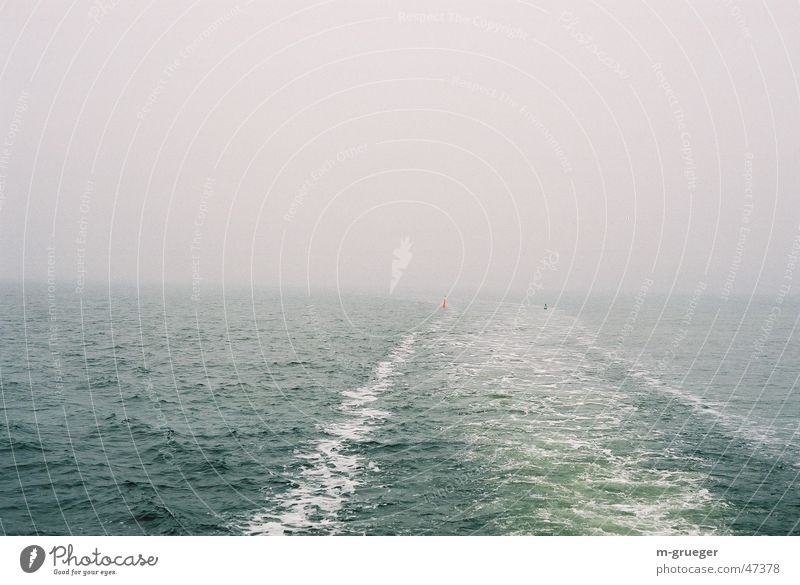 Drive to Hiddensee Fog Buoy Watercraft Ferry