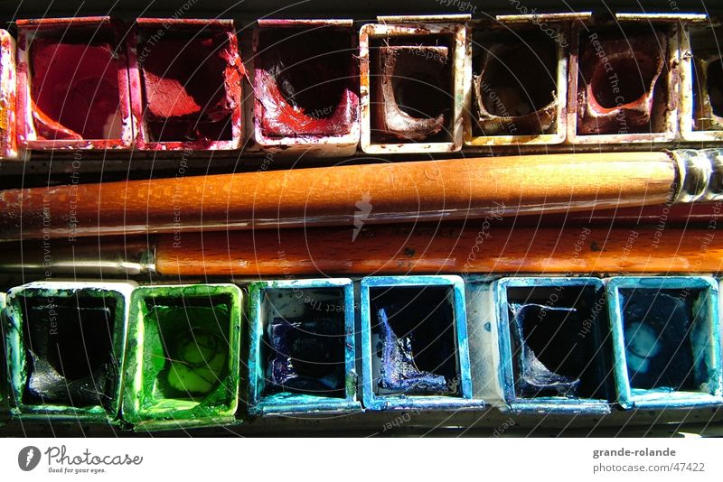 Colour Art Painting (action, work) Artist Paintbrush Colorant Watercolors
