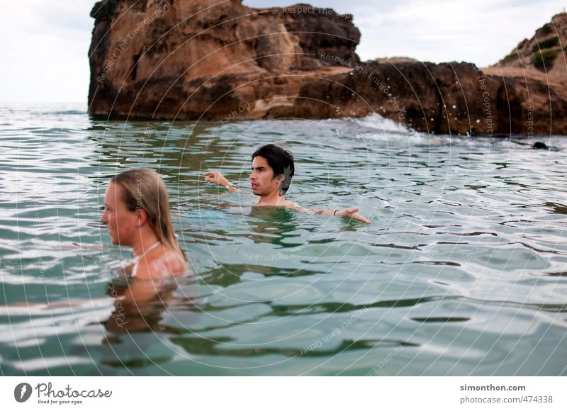 vacation Vacation & Travel Tourism Trip Adventure Far-off places Freedom Summer Summer vacation Sun Ocean Island Waves Happy Infinity Maritime Naked Wet Natural