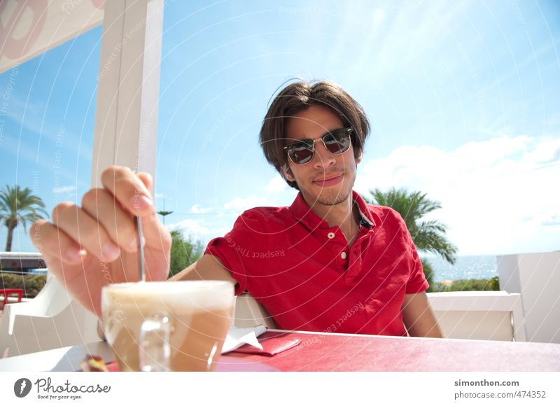 Human being Vacation & Travel Youth (Young adults) Sun Ocean 18 - 30 years Adults To talk Style Lifestyle Business Masculine Leisure and hobbies Elegant Success