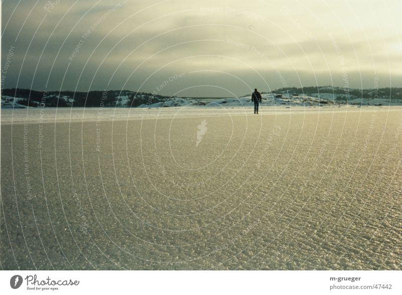 Ocean Winter Calm Loneliness Ice