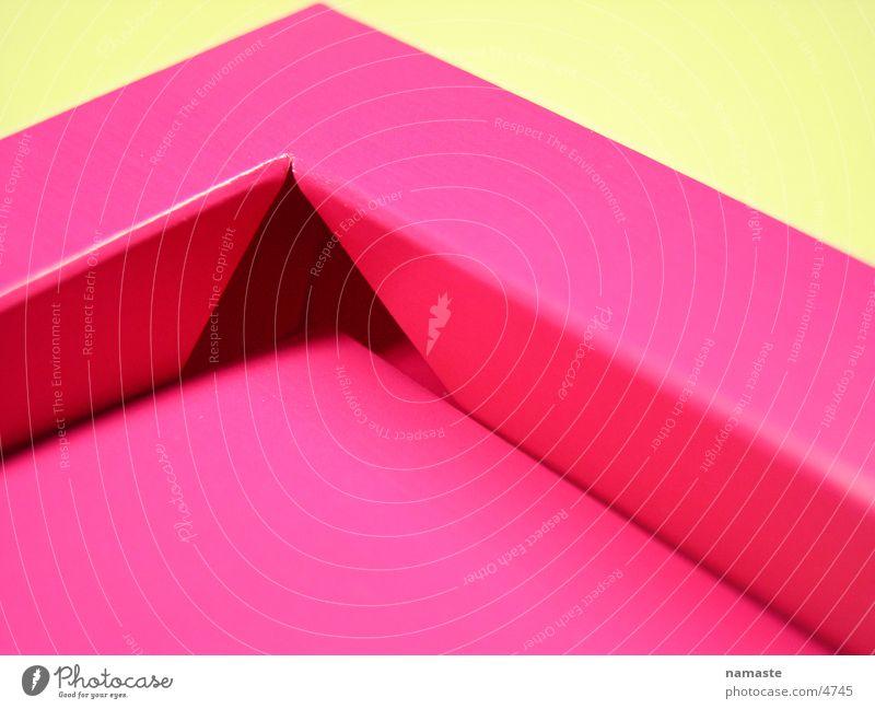 Pink Cardboard Carton Cardboard box