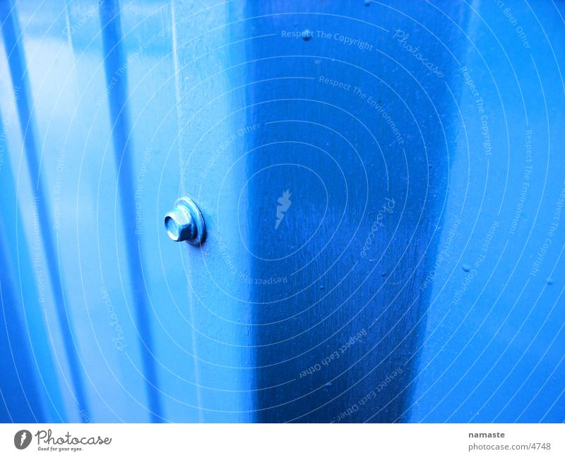 sheet steel wall Steel Steel plate Varnished Structures and shapes Industry Blue