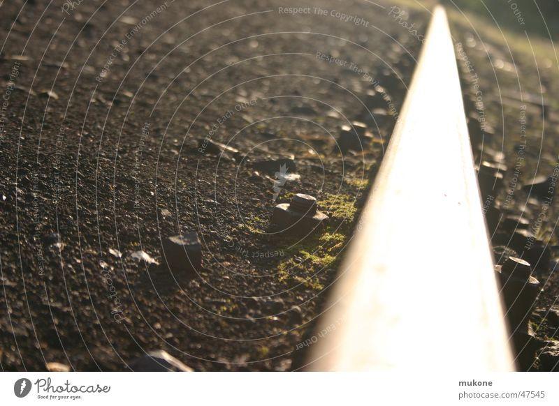 Bright Railroad tracks Deep Screw