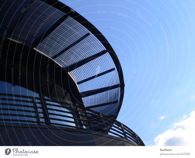 Sky Glass Facade Roof Steel