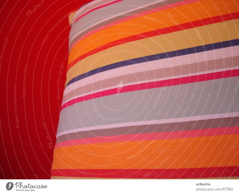 Beautiful White Red Yellow Colour Wall (building) Bright Moody Room Orange Bed Soft Violet Stripe Wallpaper Cyan