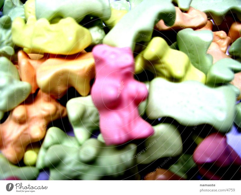 Sweet Candy Pastel tone Gummy bears Wine gum