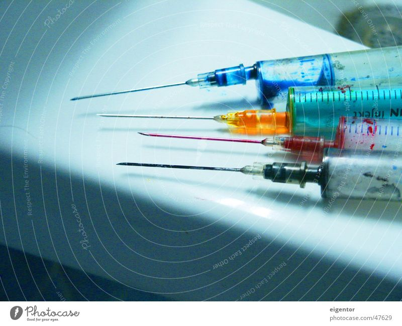 Colour Things Intoxicant Syringe Ink CMYK Cannula