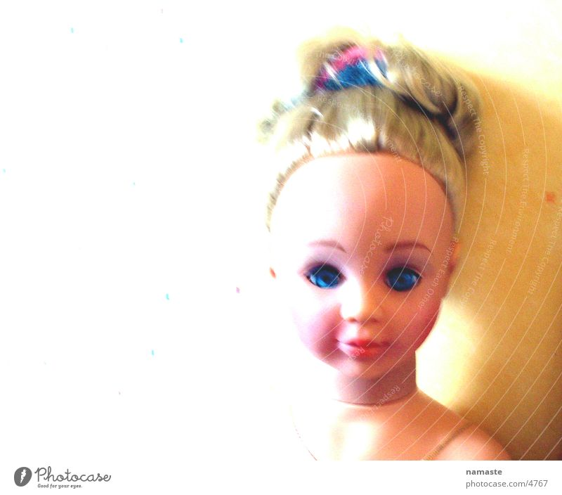 puppa Toys Light Grief Blonde Fear Panic Dangerous Doll Sadness Saucer-eyed