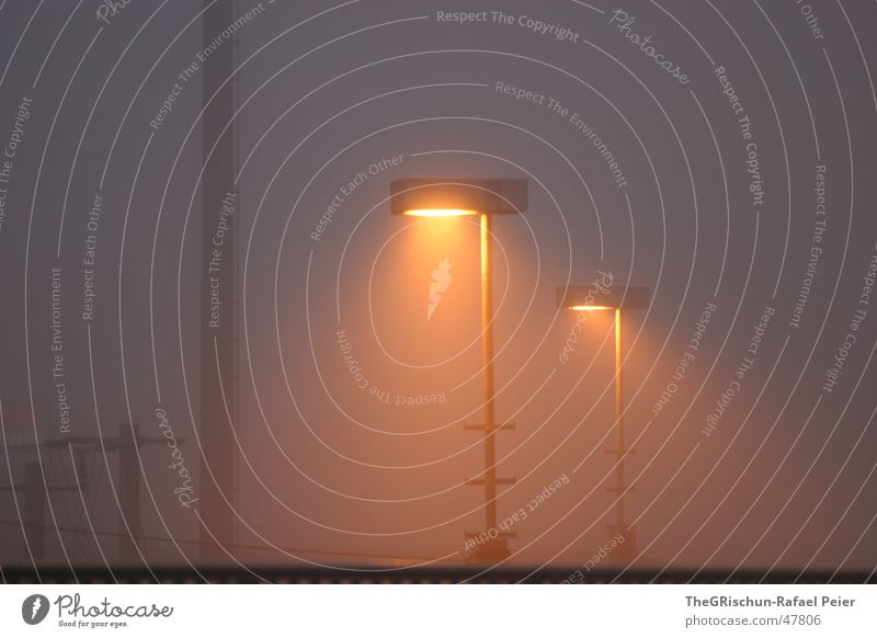 Light in the morning Fog Lantern Light (Natural Phenomenon) Floodlight Morning