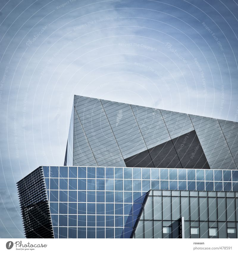 City Wall (building) Wall (barrier) Architecture Building Exceptional Line Facade High-rise Design Glass Tall Modern Esthetic Point Corner