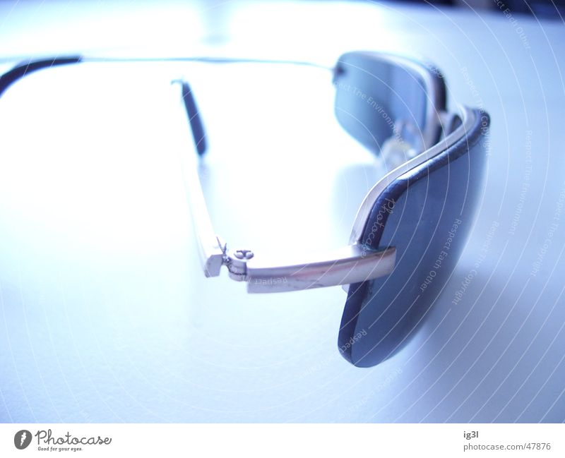 lost sight of the... Sunglasses Eyeglasses Glass Tabletop Overexposure Vista White Bright Offset reflection