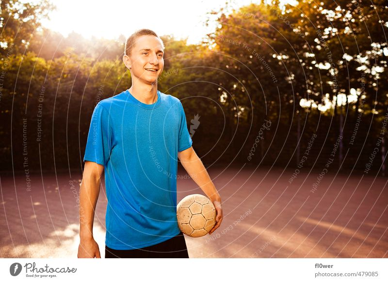 Just Play. Two. Sports Ball sports Sportsperson Goalkeeper Soccer Football pitch Masculine Young man Youth (Young adults) 1 Human being 8 - 13 years Child