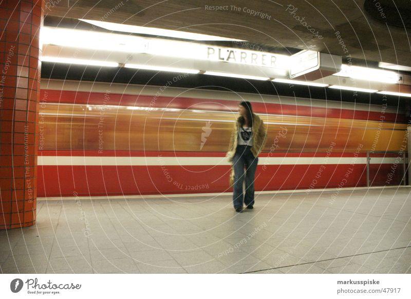 Woman Human being Movement Driving Logistics Lawn Underground London Underground Passenger Commuter trains Subsoil