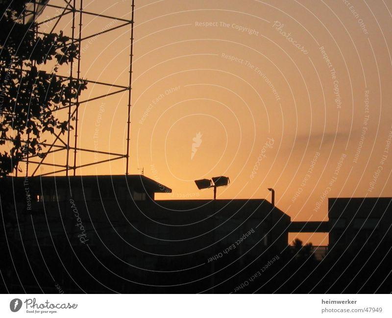 Somewhere in Barcelona Sunset Back-light Dusk Physics Exposure Electricity pylon Evening Warmth