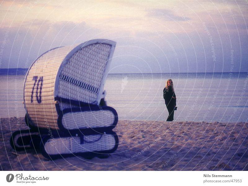 Strandidylle in Binz Ocean Beach chair Moody Vacation & Travel Rügen Water