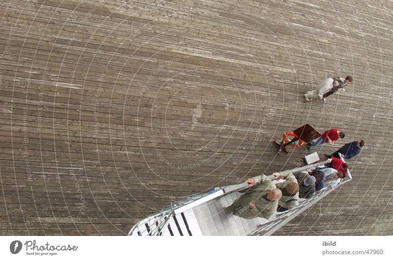 Watercraft Stairs Ladder Gangway Drop anchor Downfall Disembark Embark