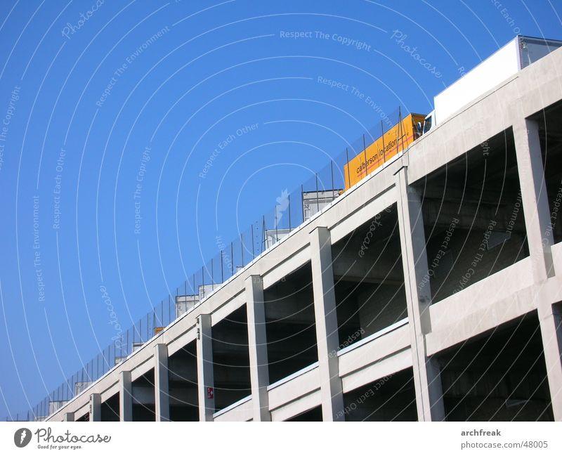 Sky City Concrete Industrial Photography Truck Paris Fence Parking garage