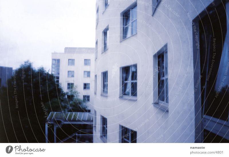 behind the hotel in berlin Hotel Hotel window Facade Architecture Rain Berlin