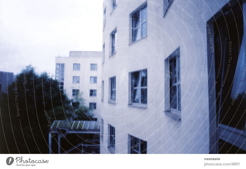 Berlin Rain Architecture Facade Hotel Hotel window