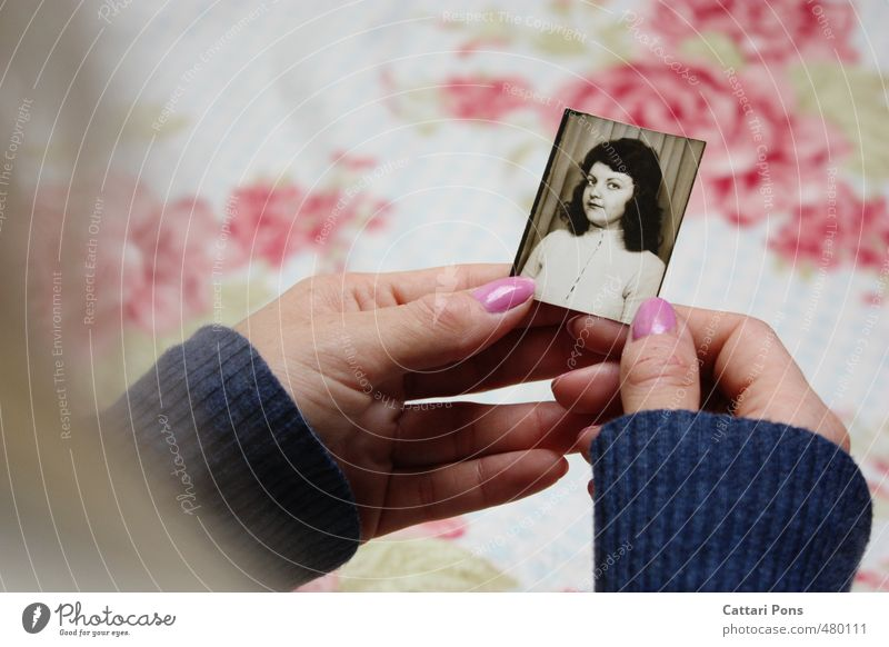 Child Youth (Young adults) Old Hand Young woman Girl Life Feminine Natural Pink Family & Relations Infancy Photography Transience Eternity To hold on