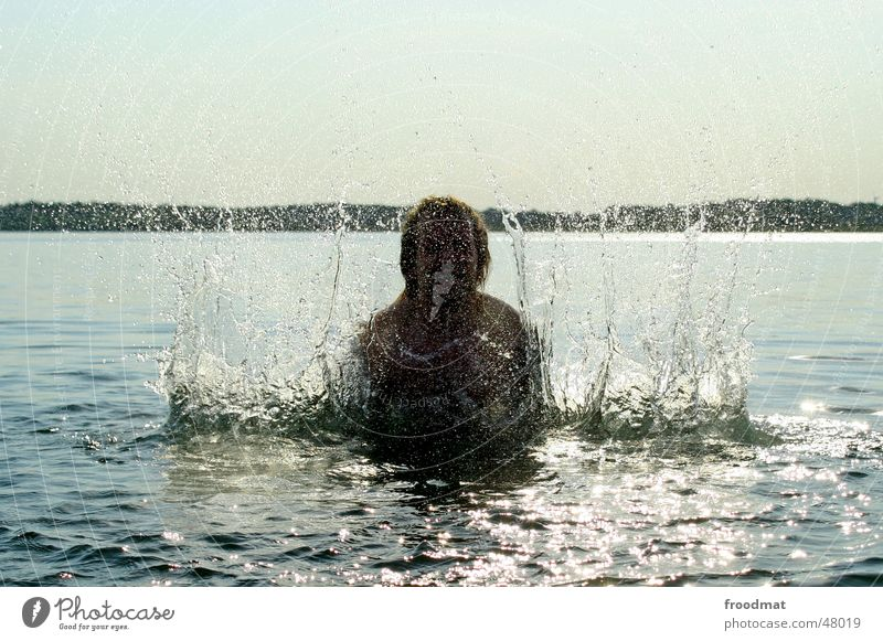 Water Sun Summer Joy Drops of water Wet Action Swimming & Bathing Inject Go crazy