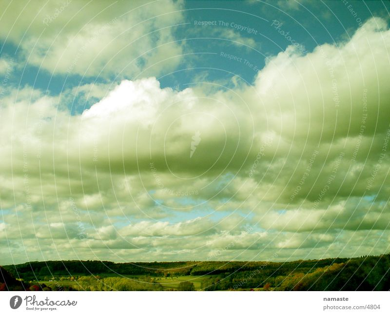 karma Mountain sky clouds landscape