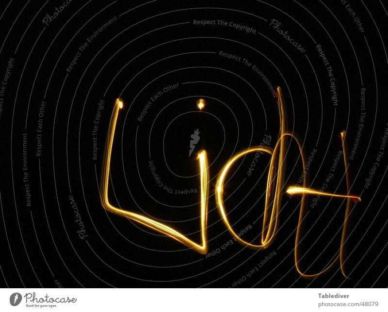 photocopy Light Text Dark Night Black Characters
