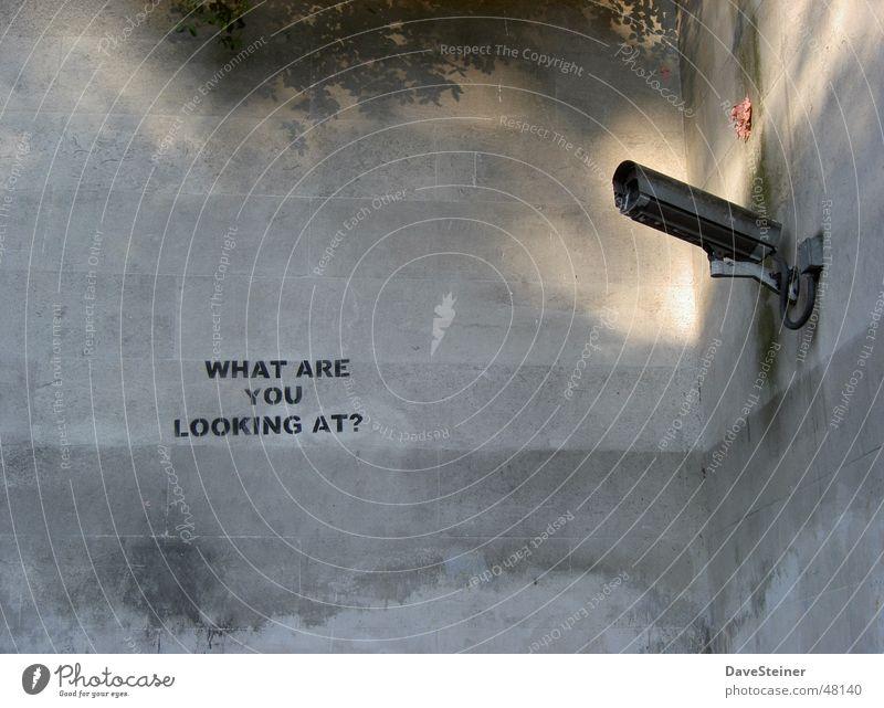 Wall (building) Wall (barrier) Open Camera Observe England Surveillance Surveillance camera Hyde Park
