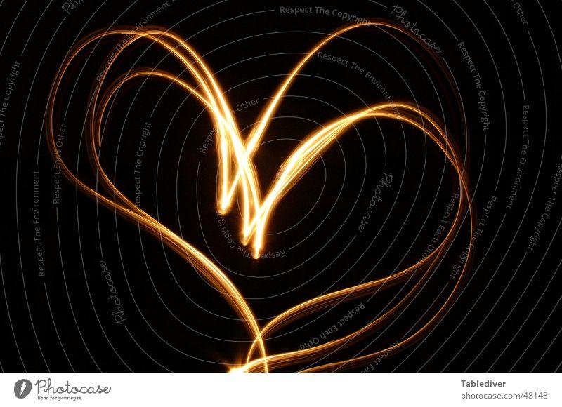 Love Black Lamp Dark Heart Candle Romance Sign Symbols and metaphors Flashlight Declaration of love