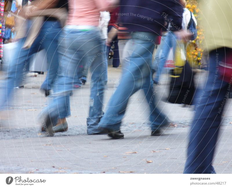 Human being City Legs Walking Speed Store premises Stress Haste