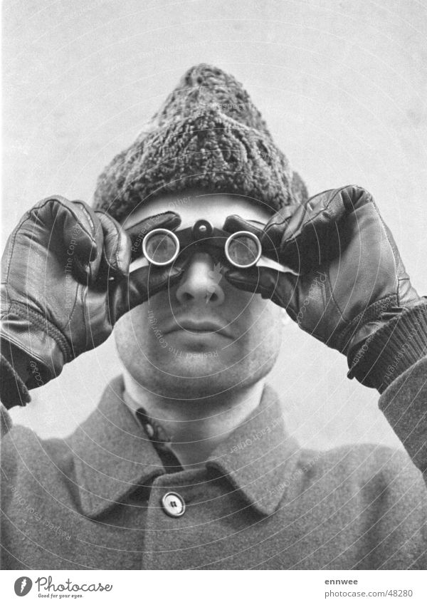 Winter Cap Binoculars Opera glasses