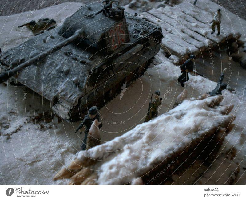 winter service World War Winter Soldier Historic Snow Landscape Armor-plated