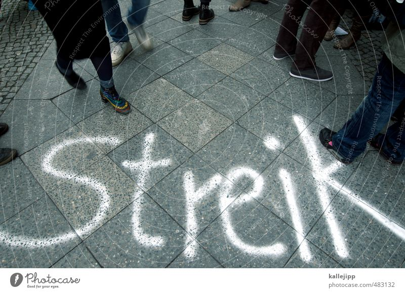 Strike! Education School Work and employment Profession Workplace Economy Industry Trade Services Business Company Team Unemployment Human being Masculine