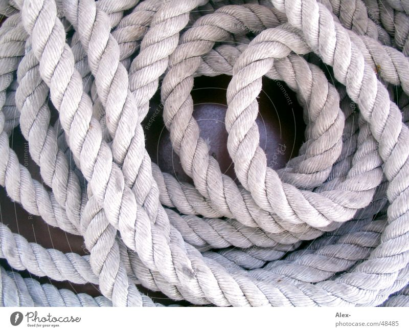 tangle of ropes Rope Anchor Watercraft Attach Muddled Lie Irritation