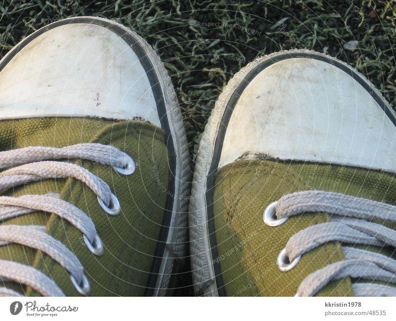 Green Feet Footwear Chucks Sneakers
